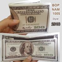 Bóp nam 100 ĐÔ loại lớn