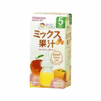 Trà gói wakodo tổng hợp 3 vị hoa quả táo cam và đào