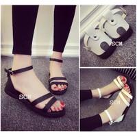 Giày Sandal hỡ gót 2 quai