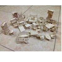 Bộ đồ chơi ghép gỗ 184 chi tiết cho bé