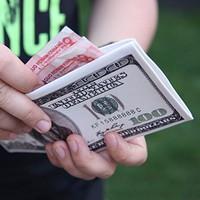 Bóp Ví Tiền Hình Đô La Da Tốt