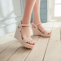 Giày đế xuồng tết sam thời trang - LN361