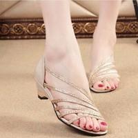 Giày Sandal quai chéo San San hàng nhập - LN362