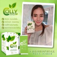 Trà xanh giảm cân Colly Green Tea Chlorophyll Plus Fiber