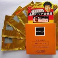 Hộp 10 gói mặt nạ bùn lột mụn cám Naturgo Shiseido