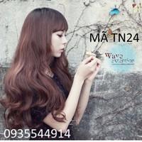 Tóc nữ xoăn đuôi Hàn Quốc Siêu Đẹp TN24