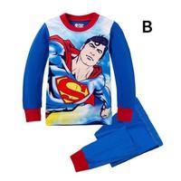 Bộ đồ ngủ thun bé trai superman NX571