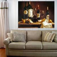 Tranh treo tường bàn rượu nghệ thuật