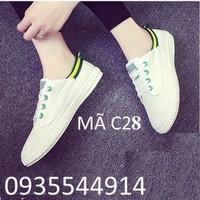 Giày lười thể thao nữ cá tính C28