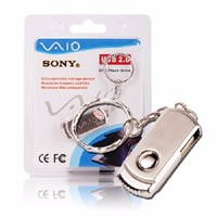 USB SONY VAIO 16GB XOAY MINI MÓC KHÓA CHỐNG NƯỚC