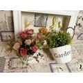 Chậu hoa xanh Garden
