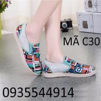 Giày lười nữ thể thao C30