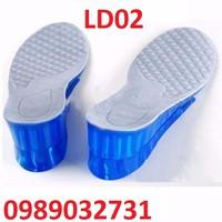 Lót giày nâng chiều cao SILICON - LD02