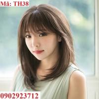 Tóc Giả Nữ Hàn Quốc Tặng Lưới - TH38