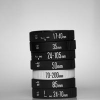 Vòng đeo tay ống kính cao su  cho ống kính máy ảnh DSLR Canon Nikon