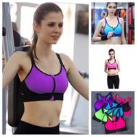 TT 20 - Áo thể thao nữ dây kéo tập Gym Yoga Aerobic