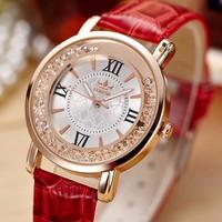 Đồng hồ nữ FORON đính đá cao cấp