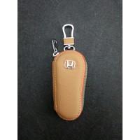Móc khóa kèm ví da logo Honda