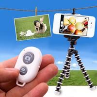 Chân máy ảnh bạch tuộc+điều khiển camera Bluetooth