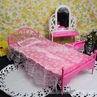 BB112-Giường ngủ cho búp bê barbie