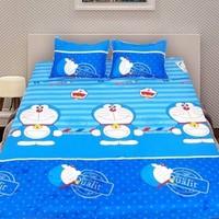 Bộ ga giường cotton Doremon bì thư