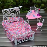 BB120-Giường ngủ kèm bàn trang điểm
