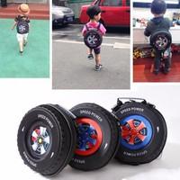 Balo trẻ em hình bánh xe 3D