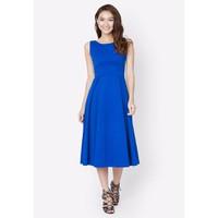 Đầm Vintage dài - Xanh - CIRINO