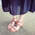 Giày cao gót bính rua CG18