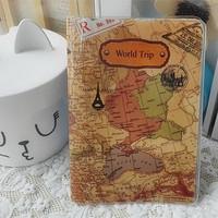Combo 2 Ví Passport cover -  hộ chiếu bản đồ PP56 candyshop88.vn