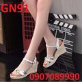 Giày đế xuồng nữ đẹp rẻ - GN91