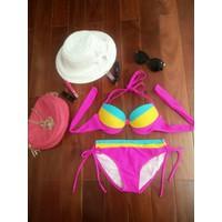Bikini cao cấp sản xuất Việt Nam màu Hồng