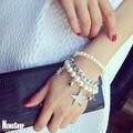 Vòng tay trang sức nữ ngọc trai hoang dã - K1098