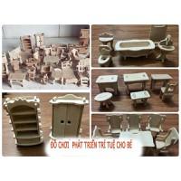 Bộ lắp ghép bằng gỗ