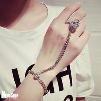 Vòng đeo tay xiêm nhẫn cá tính phong cách - k6359