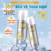 Chai xịt chống nắng Recipe Crystal Sun Spray bảo vệ làn da bạn 100
