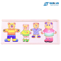Bộ Đồ Chơi Thời Trang Gấu Cho Bé Dream Toy