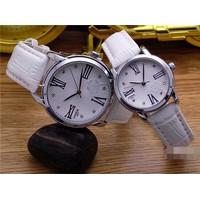 đồng hồ đôi MIKE dây da 450k 1 cặp