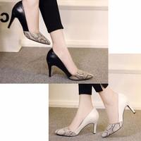 giày cao gót nhập khẩu GD823
