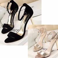 giày cao gót nhập khẩu GD692