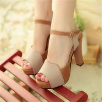 Giày cao gót nhập khẩu GD1015