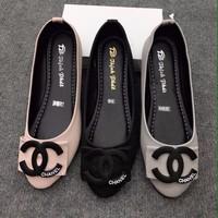 giày búp bê chanel