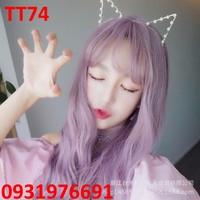Tóc giả Hàn Quốc màu tím HOT 2016 -- TT74