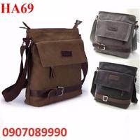 Túi xách nam vải bố cao cấp - HA69