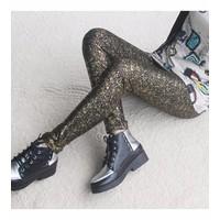 quần legging nữ cá tính Mã: QB468 - VẢNG