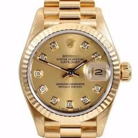 [D]Đồng hồ nam full gold