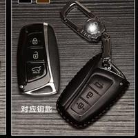 Bao da bọc chìa khóa ô tô Hyundai mẫu C