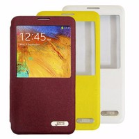 Bao da Jzzs Samsung-Galaxy Note 3 S-View Cover