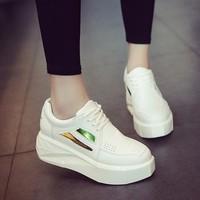 Giày nữ nâng đế dễ thương phong cách Hàn Quốc -  XS0351