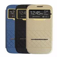 Bao da Samsung-Galaxy S4 Sview đầy tiện ích